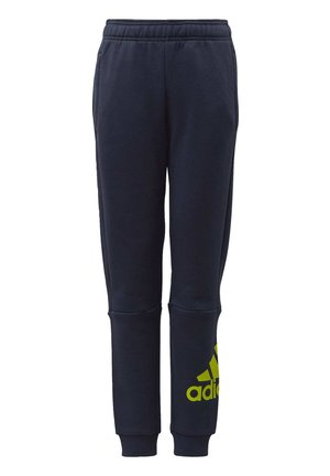 MUST HAVES BADGE OF SPORT FLEECE JOGGERS - Tracksuit bottoms - blue