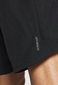 adidas Performance - RUN IT SHORT - Pantalón corto de deporte - black - 5
