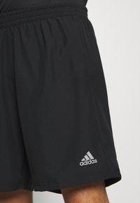 adidas Performance - RUN IT SHORT - Pantalón corto de deporte - black - 3