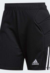 adidas Performance - TIERRO GOALKEEPER SHORTS - Short de sport - black - 8