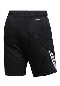 adidas Performance - TIERRO GOALKEEPER SHORTS - Short de sport - black - 10