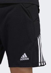 adidas Performance - TIERRO GOALKEEPER SHORTS - Short de sport - black - 4