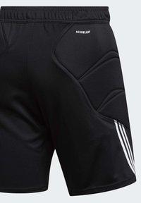 adidas Performance - TIERRO GOALKEEPER SHORTS - Short de sport - black - 9