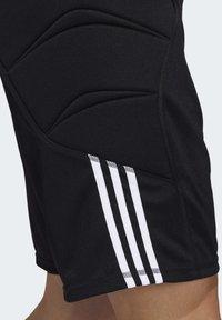 adidas Performance - TIERRO GOALKEEPER SHORTS - Short de sport - black - 5