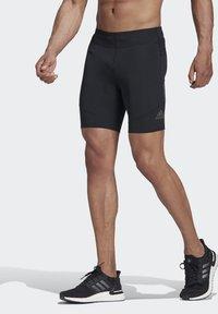 adidas Performance - SATURDAY SHORT TIGHTS - Sports shorts - black - 0