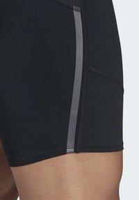 adidas Performance - SATURDAY SHORT TIGHTS - Sports shorts - black - 5