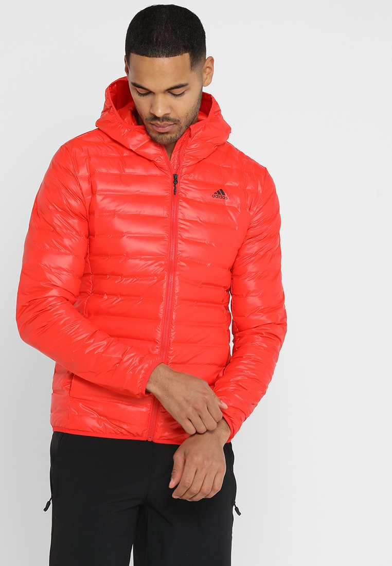 adidas Performance - VARILITE HOODED DOWN JACKET - Winterjas - red