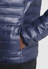 adidas Performance - VARILITE HOODED DOWN JACKET - Zimní bunda - legend ink - 3