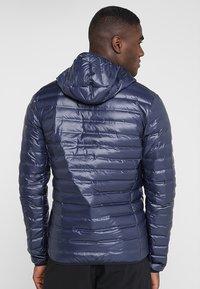 adidas Performance - VARILITE HOODED DOWN JACKET - Zimní bunda - legend ink - 2