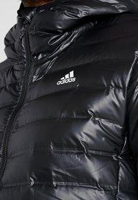adidas Performance - VARILITE HOODED DOWN JACKET - Talvitakki - black - 4