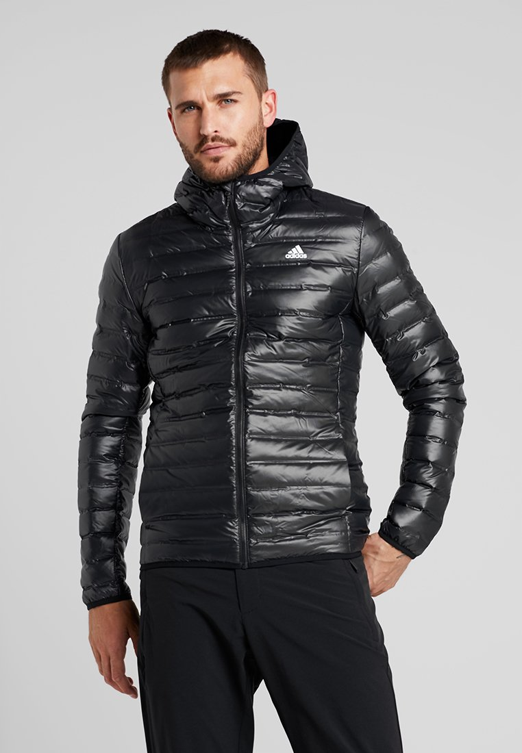 adidas Performance - VARILITE HOODED DOWN JACKET - Winterjacke - black