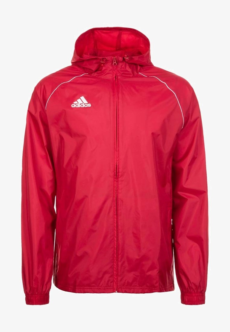 adidas Performance - CORE 18 RAIN JACKET - Veste Hardshell - red/white