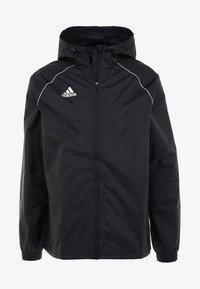 adidas Performance - CORE ELEVEN FOOTBALL JACKET - Kurtka hardshell - black/white - 4