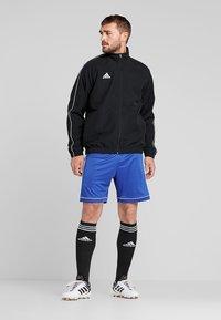 adidas Performance - CORE 18 - Sportovní bunda - black/white - 1