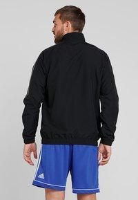 adidas Performance - CORE 18 - Sportovní bunda - black/white - 2