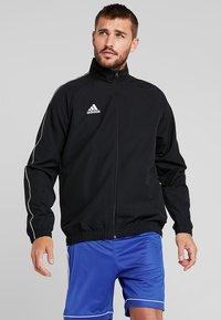 adidas Performance - CORE 18 - Sportovní bunda - black/white - 0