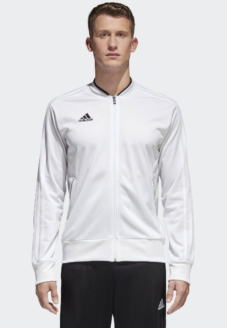 adidas Performance - CONDIVO 18 TRACK TOP - Training jacket - white/black
