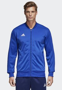 adidas Performance - CONDIVO 18 TRACK TOP - Trainingsvest - bold blue/dark blue/white - 0