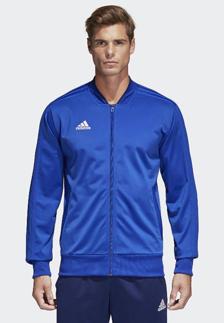adidas Performance - CONDIVO 18 TRACK TOP - Trainingsvest - bold blue/dark blue/white