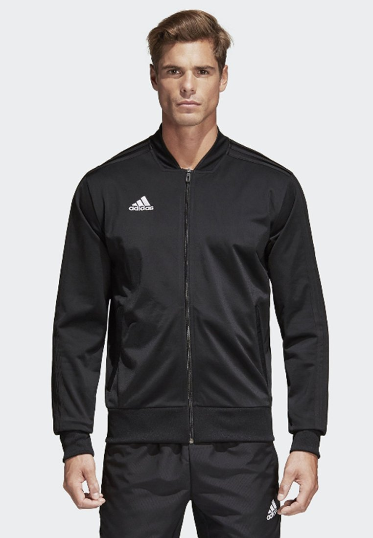 adidas Performance - CONDIVO 18 TRACK TOP - Giacca sportiva - black/white