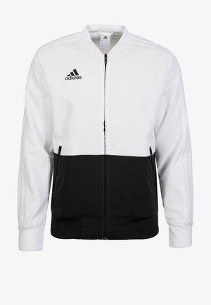 CONDIVO 18 PRESENTATION TRACK TOP - Training jacket - white/black