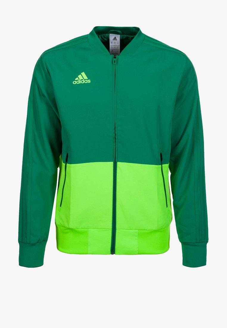 adidas Performance - CONDIVO 18 PRESENTATION TRACK TOP - Trainingsvest - green/ light green