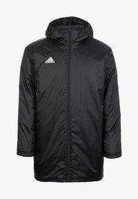 adidas Performance - CORE 18 STADIUM JACKET - Waterproof jacket - black/white - 0