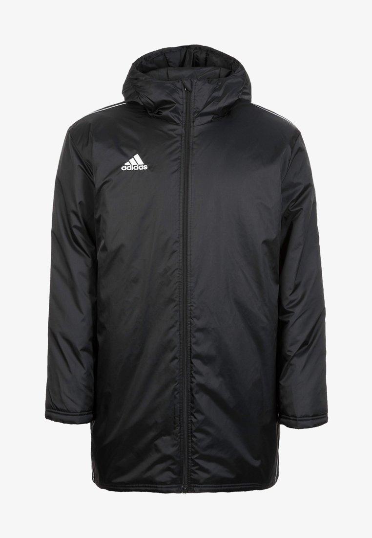 adidas Performance - CORE 18 STADIUM JACKET - Waterproof jacket - black/white