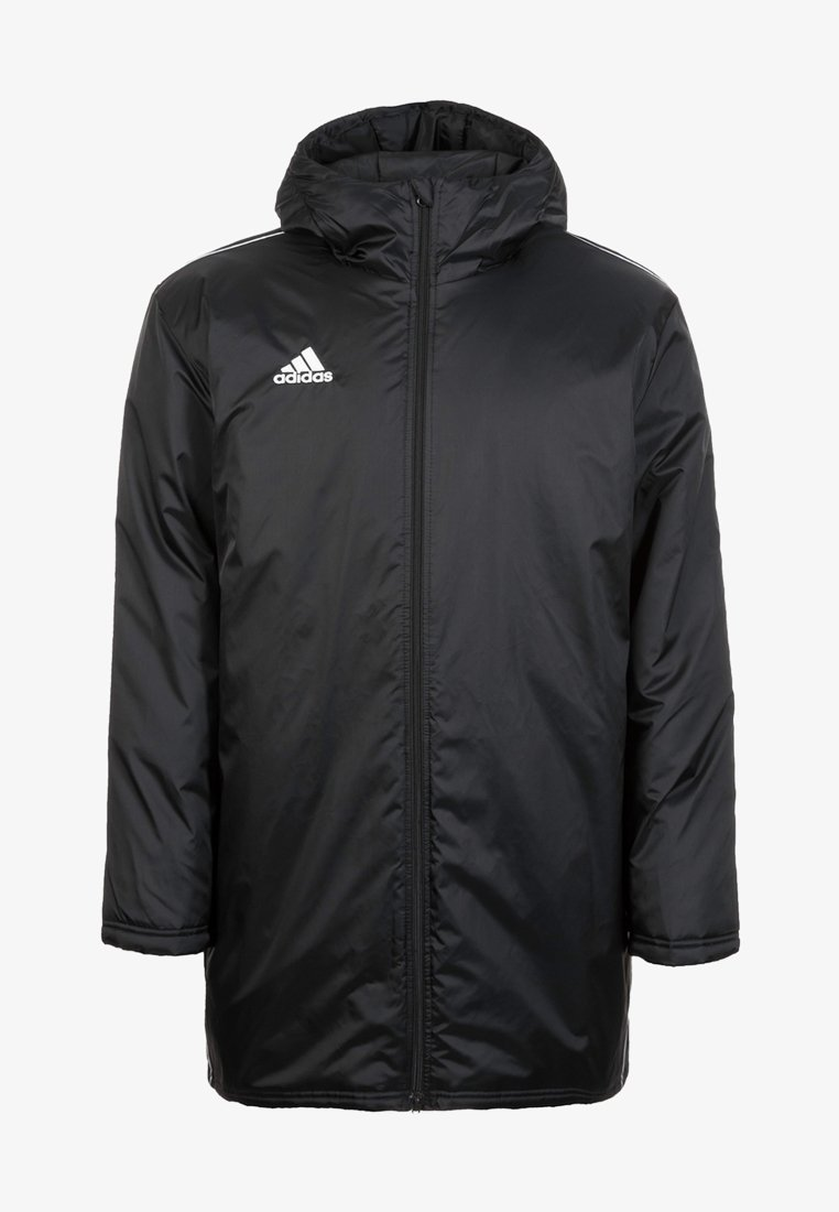 adidas Performance - CORE 18 STADIUM JACKET - Regnjacka - black/white