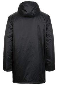 adidas Performance - CORE 18 STADIUM JACKET - Waterproof jacket - black/white - 1