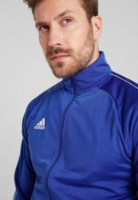 adidas Performance - Core 18 TRACK TOP - Training jacket - blue/white - 3