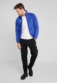 adidas Performance - Core 18 TRACK TOP - Training jacket - blue/white - 1
