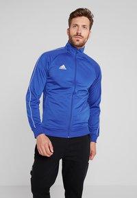 adidas Performance - Core 18 TRACK TOP - Training jacket - blue/white - 0