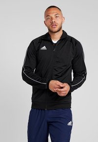 adidas Performance - CORE ELEVEN FOOTBALL TRACKSUIT JACKET - Training jacket - balck/white - 0