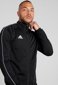 adidas Performance - CORE ELEVEN FOOTBALL TRACKSUIT JACKET - Training jacket - balck/white - 4