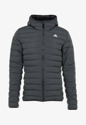 VARILITE SOFT HOODED - Down jacket - carbon