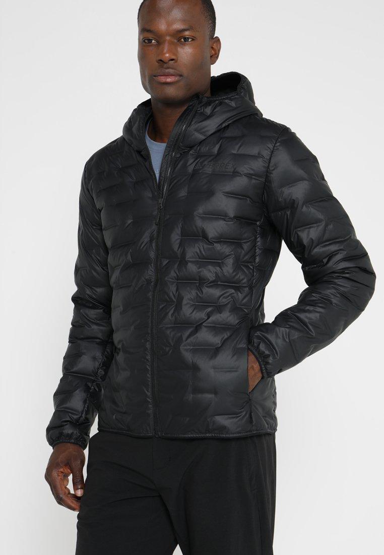 adidas Performance - LIGHT DOWN - Down jacket - black