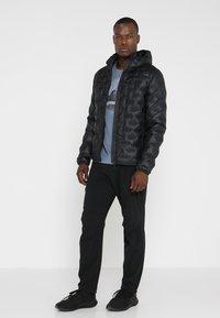 adidas Performance - LIGHT DOWN - Down jacket - black - 1