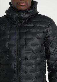 adidas Performance - LIGHT DOWN - Down jacket - black - 5