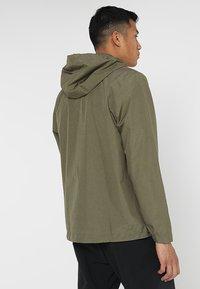 adidas Performance - BSC CLIMAPROOF RAIN - Waterproof jacket - raw khaki - 2