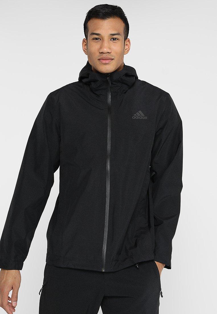 adidas Performance - BSC CLIMAPROOF RAIN - Regnjakke - black
