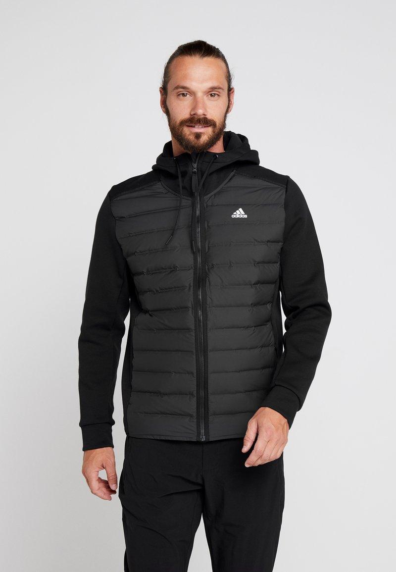 adidas Performance - VARILITE HYBRID DOWN JACKET - Vinterjacka - black