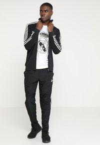 adidas Performance - TIRO19  - Sportovní bunda - black/white - 1