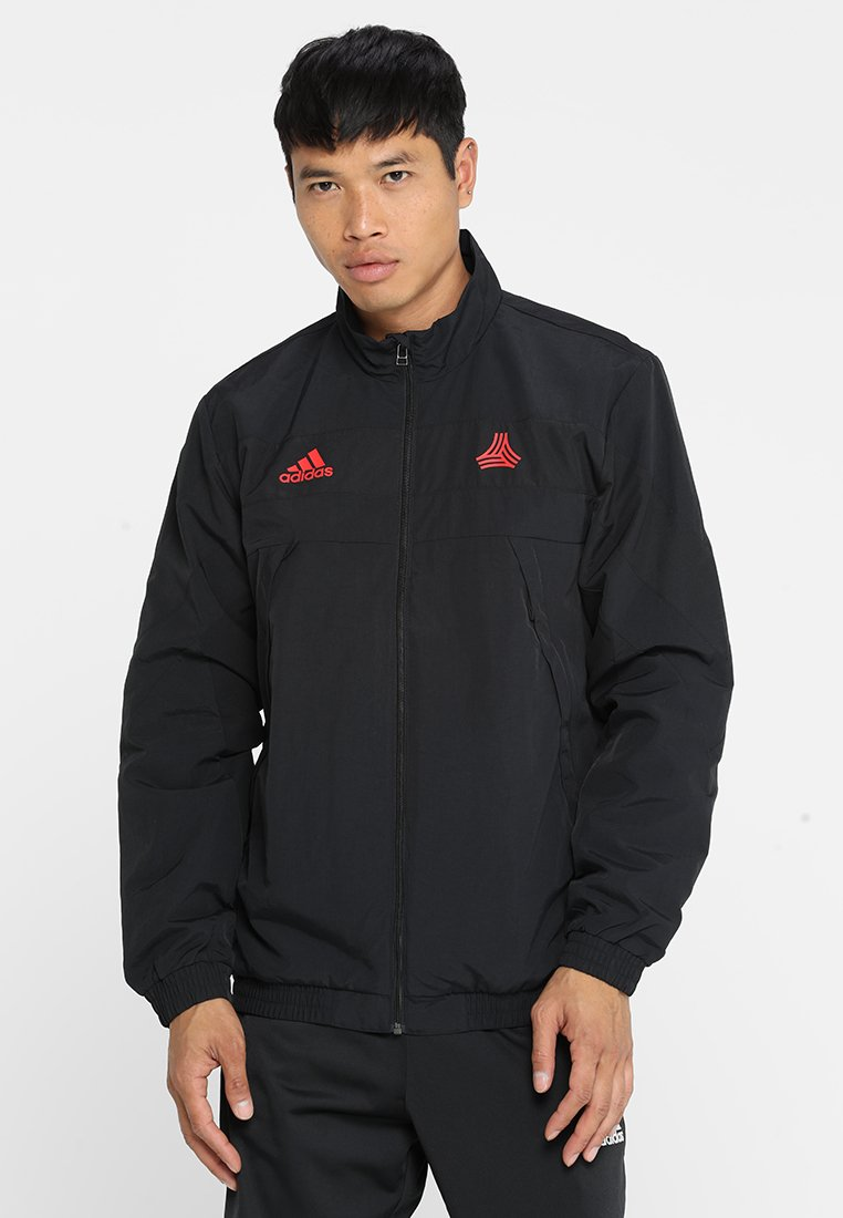adidas Performance - TAN TRAINING DOWNTIME - Trainingsjacke - black