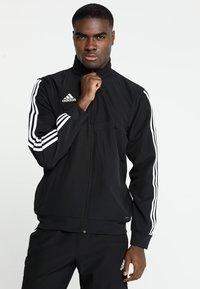 adidas Performance - TIRO19  - Sportovní bunda - black/white - 0