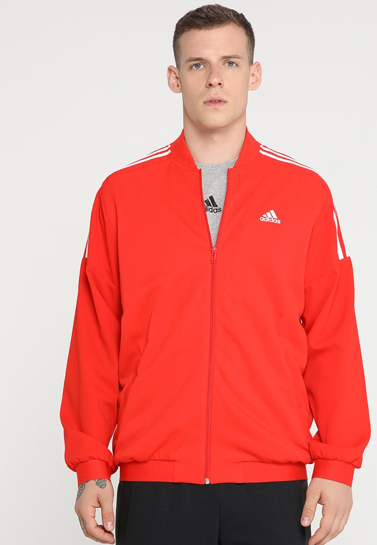 adidas Performance - SID BOMBER - Giacca sportiva - active red/white