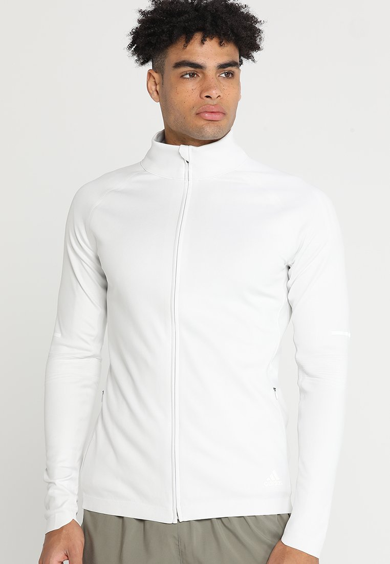 adidas Performance - JACKET  - Chaqueta de deporte - white/grey one