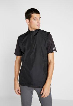 ESSENTIALS WIND - Vest - black