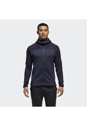 TERREX STOCKHORN HOODED FLEECE - Fleece jacket - blue