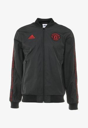 MANCHESTER UNITED FC ANTHEM - Sportovní bunda - black